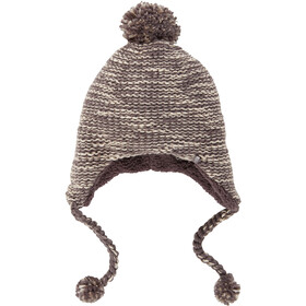 The North Face Fuzzy Earflap Beanie Damen rabbit grey/peyote beige